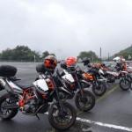 続・8/25(日)KTMなオレンジ系ツーリング