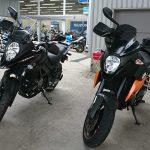 KTM 990SMTから、Suzuki V-Strom650XT ABSへ
