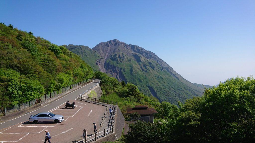 V-Strom650XT 雲仙普賢岳 平成新山